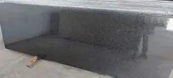 R Black Granite Slab, For Flooring, Thickness: 15-20 mm