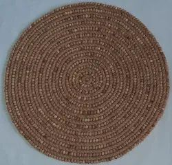 Jute And Wooden Beads Placemat