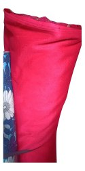 Plain Red Mesh Bag Fabric, Width: 60 Inch