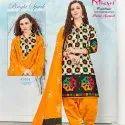 Low Range Unstitched Salwar Suit -10