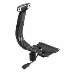 Fabric Steel And Plastic Height Adjustable Chair Mechanism Part, Black