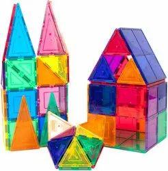 Multicolor Magic Tiles 62 Pcs Set