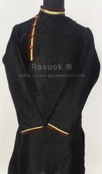 Black Brocade Kurta Pajama