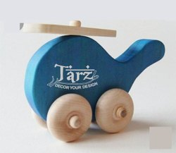 Kids Wooden Tortoise Toy- 01