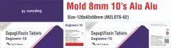 DAPAGLIFLOZIN 10MG  TABLET THIRD PARTY MANUFACTURING