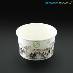 Foodpack White 150 ML Liquid Takeaway Container, For Event And Party Supplies