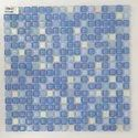 Wall Cladding Small Size Glass Mosaic Tiles, Thickness: 4 Mm