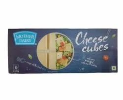 Mother Dairy Cheese Cubes, Packaging Size: 180 G, Packaging Type: Box