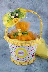Multicolor Cardboard Baby Announcement Gift Basket, For Gifting, 30