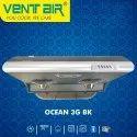 Ocean 3g BK Ventair Kitchen Chimney
