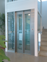 Glass Door Passenger Elevator