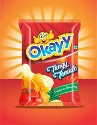 Okayy Tangy Tomoto Potato Chips, Packaging Size: 17 Gram