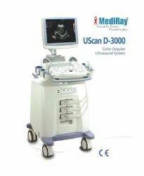 Mediray UScan D- 3000 Ultrasound Machine