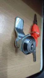 Mortise Panel Locks And Key, Chrome