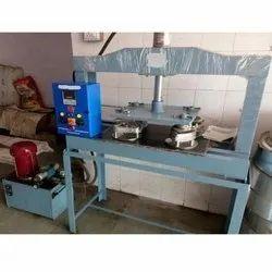 Single Die Hydraulic Plate Making Machine