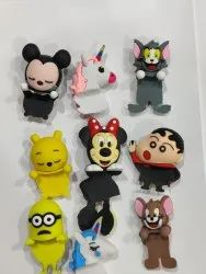 Motivate Box Multicolor Silicone Doll for Phones, Packaging Type: 100 Pcs Packet