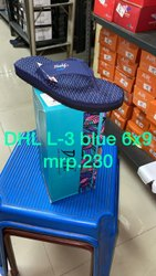 DHL L3 Mens Blue Rubber Slipper