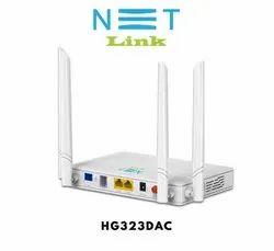 White 5 Netlink Gpon Ont 2ge+1pots+Ac Wifi (Hg323dac)