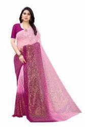 Wedding Wear Sequin Saree