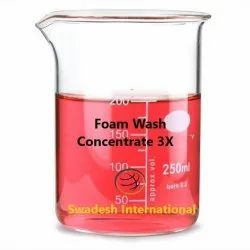 Liquid Foam Wash Concentrate 3X, Packaging Size: 50 Kg