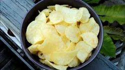 Dry Plain Potato Chips