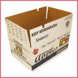 Cardboard Rectangular Printed Packaging Carton Box, Weight Holding Capacity (kg): >25 Kg