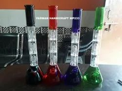 Triple Percolator Water Smoking Pipes