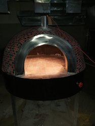 wood fire pizza machine