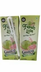 Jyosh Cloudy White Fresh Guava Juice, Packaging Size: 200 ml, Packaging Type: Tetra Pack
