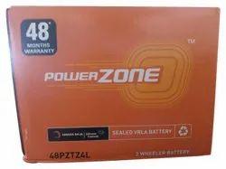 48PZTZ4L Power Zone Two Wheeler Batterie