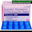 Ibuprofen, Paracetamol and Chlorzoxazone Tablet