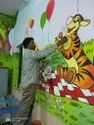 2D and 3D Wall Painting Services
