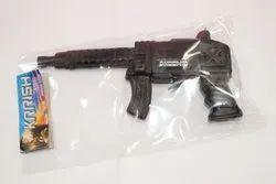 Black Plastic Toy Gun, Child Age Group: 2-5 Years