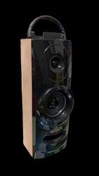 Black Wooden 2.4 1400W Home Audio Speaker