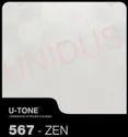 567-Zen PVC Laminated Gypsum Ceiling Tile