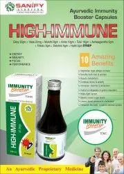 High Immune Immunity Boster Tonic, Packaging Type: Bottle, Packaging Size: 200 Ml