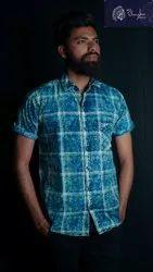 Junglee Checked Mens Casual Wear Cotton Check Shirt