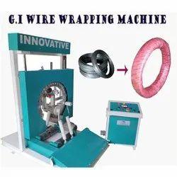 G.I Wire Wrapping Machine, 415 V Ac