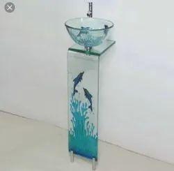 UGAM Designer Glass Wash Basin, For Bathroom