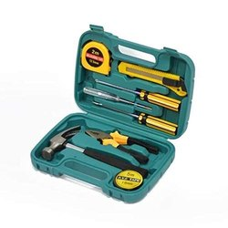 Small Homeowner Tool Set 9 In 1 Tool Kit