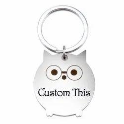 Custom Engraved Key Rings