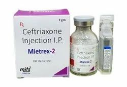 Ceftriaxone Injection 2 gm