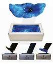 Metallic Silver Body Shoe Cover Dispenser for Office