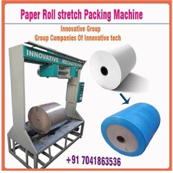 Paper Roll Stretch Packing Machine