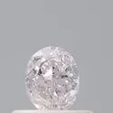 Oval 0.40ct Faint Pink GIA Certified Natural Fancy Color Diamond