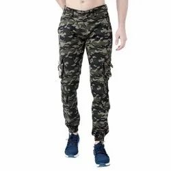 Trendsetter Army Printed Relaxed Fit Cargo Jogger Pants for Men (Dori Style)