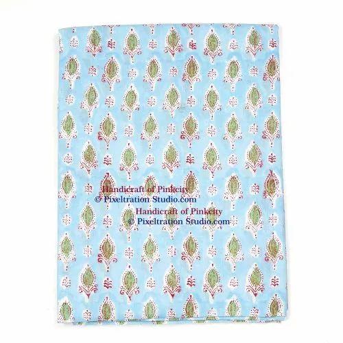 Cotton Hand Block Print Fabric