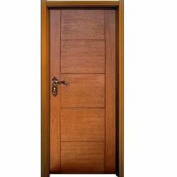 Brown Wooden Laminated Door, For Home