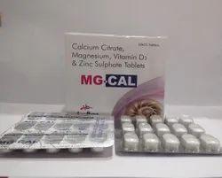 Calcium Citrate Magnesium Vitamin D3 & Zinc Sulphate Tablats