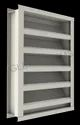 Extruded Aluminum Drainable Louver, For Industrial